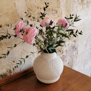 Vase boule en céramique